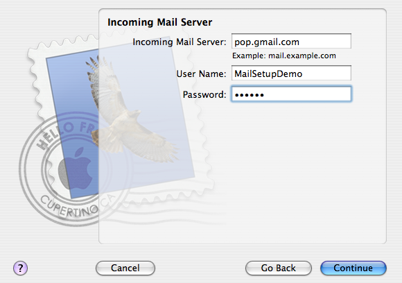 Configuring Apple Mail to Access Google Mail